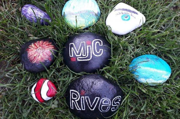 Les galets de la MJC de Rives